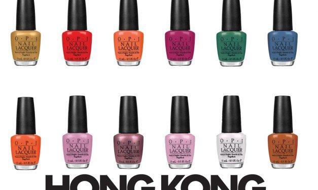 HONG KONG,i nuovi smalti per unghie O.P.I.