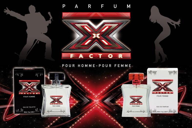 Müster & Dikson lancia il profumo X Factor