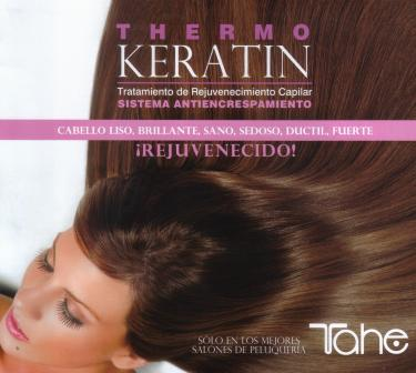 "TEST PRODOTTO  LINEA ""THERMO KERATIN""  By TAHE"
