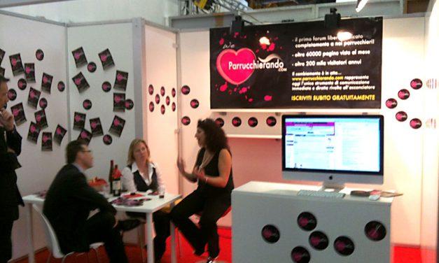 Lo stand di parrucchierando al Cosmoprof 2011