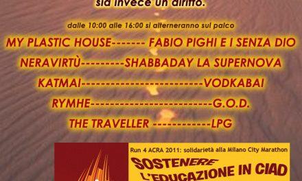 Il Forum di Parrucchierando supporta Strade Alternative e ACRA in occasione del concerto benefico a Milano Marathon 2011