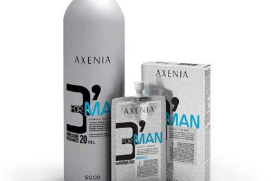 Da Axenia la nuova colorazione veloce per uomo