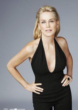 Sharon Stone testimonial 2012 per Tagliati per il Successo e Screen