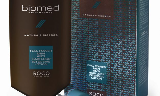 Soco P. presenta Full Power Men di Biomed Hairtherapy