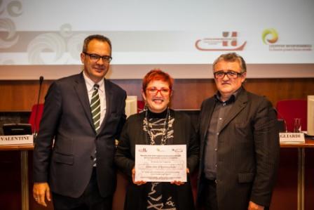 Anna Josè Buttafava riceve il premio 'Buone Prassi'