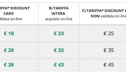 Tariffe biglietti Cosmoprof Bologna 8 all'11 marzo 2013