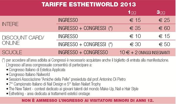EW 13 Tabella Tariffe1