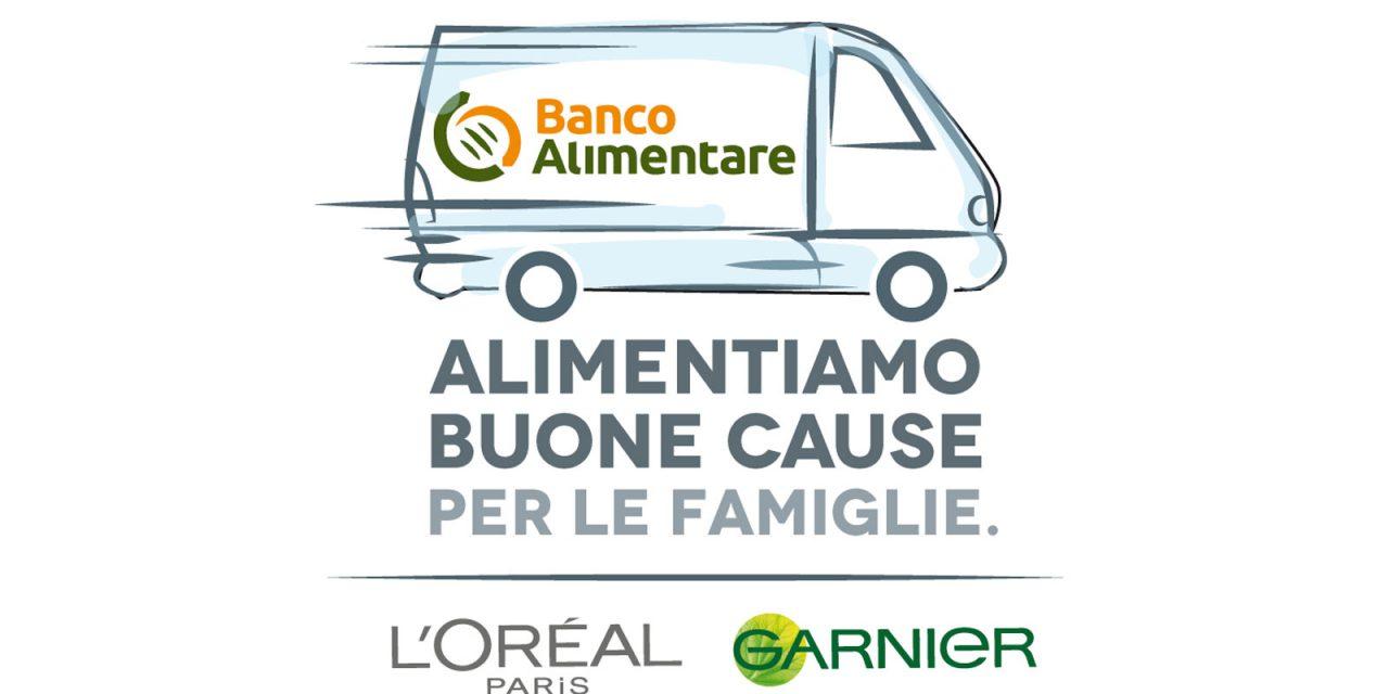 Il progetto di L'Oréal Paris e Garnier insieme a Conad e E.LeClerc a favore di Fondazione Banco Alimentare