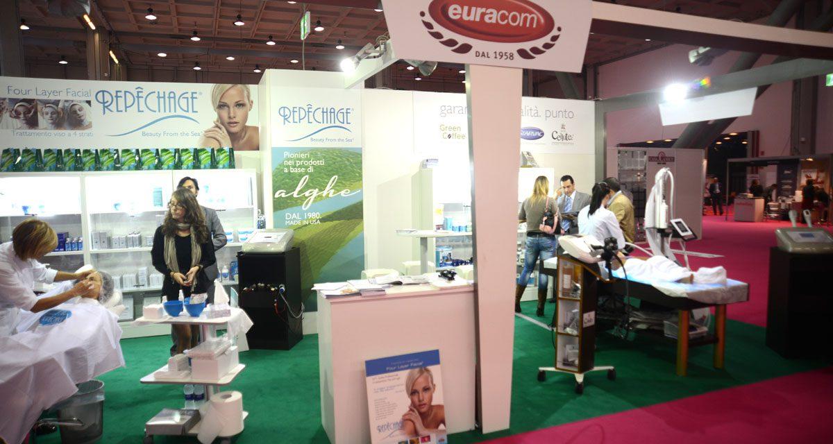 Esthetiworld 2013 -stand Euracom