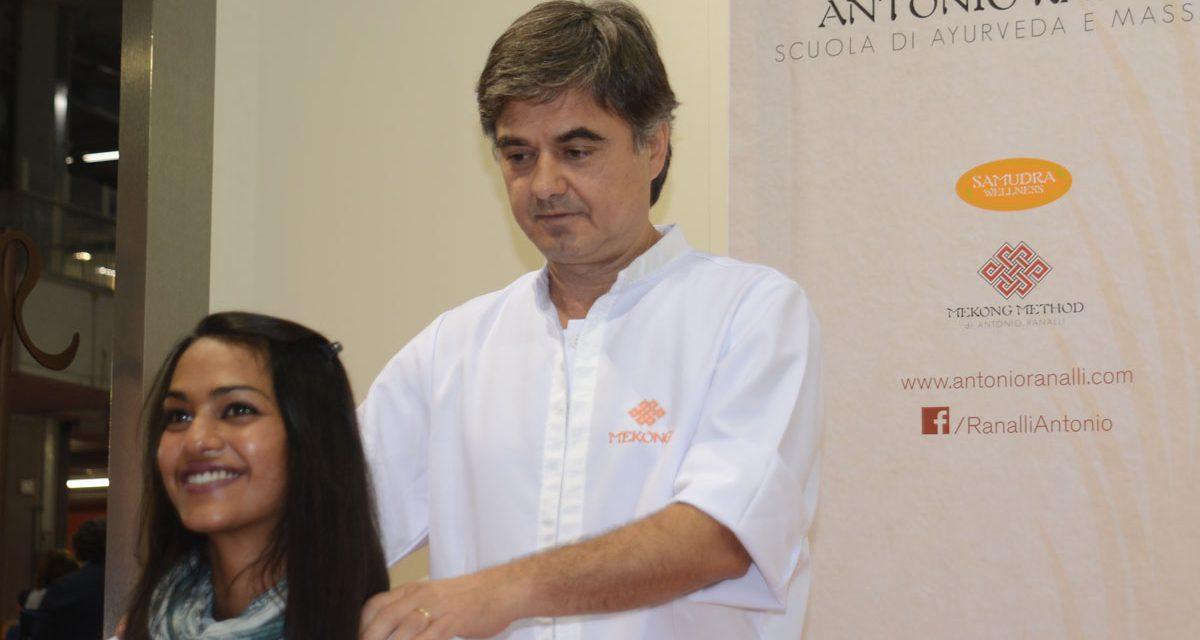 Antonio Ranalli scuola di Ayurveda e Massaggi orientali.