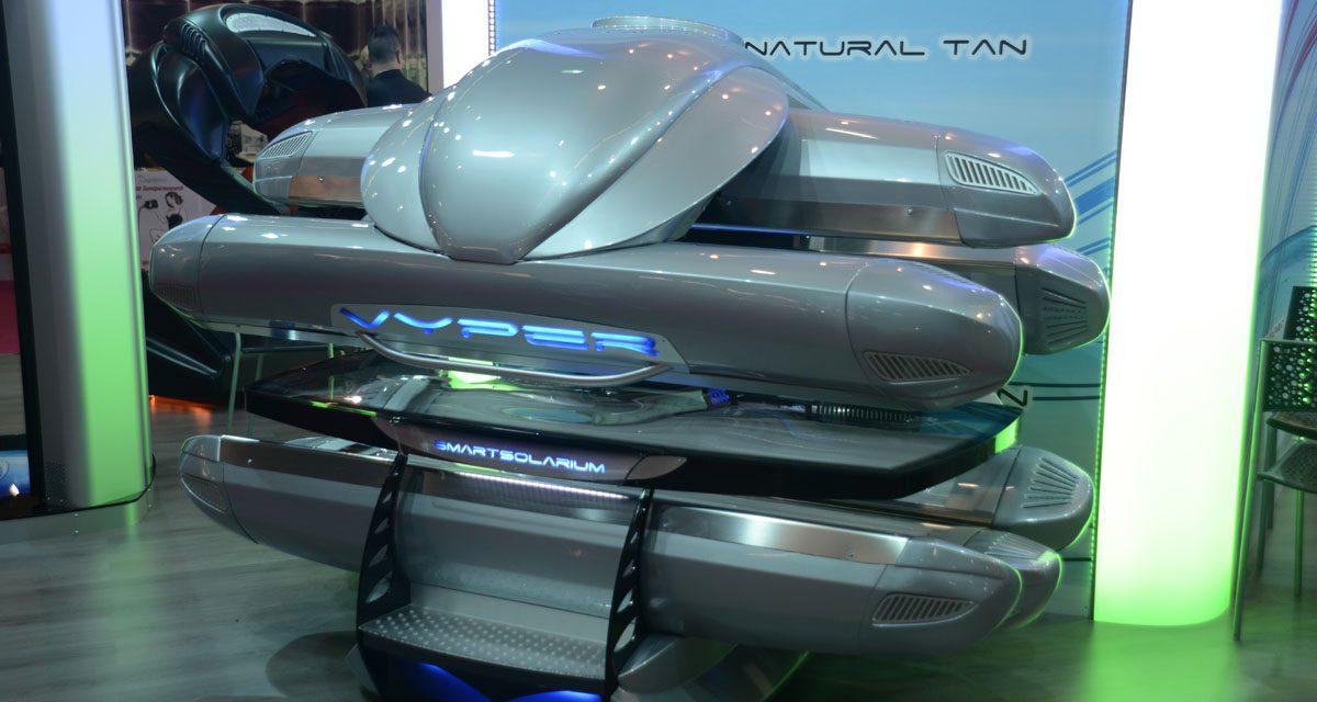 Lettini abbronzanti tecnologicamente avanzati  per Smart Solarium
