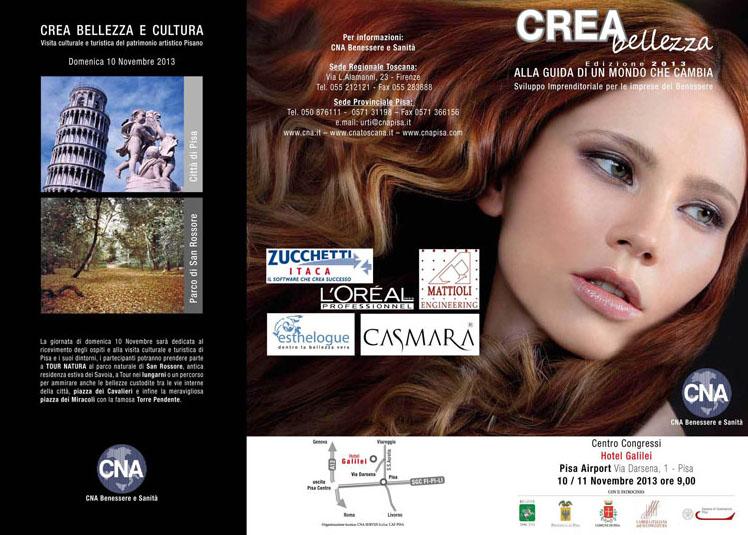 Crea Bellezza' 2013: due giorni con tutti gli aggiornamenti dal mondo Parrucchieri ed Estetica