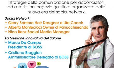 Il salone gestito e organizzato della nuova era dei social network