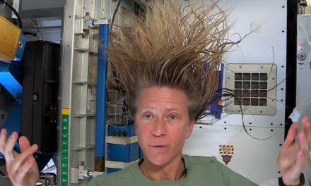 Uno shampoo nello spazio