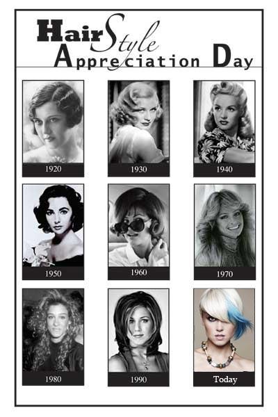 Hairstyle Appreciation Day viene osservato il 30 aprile 2014.