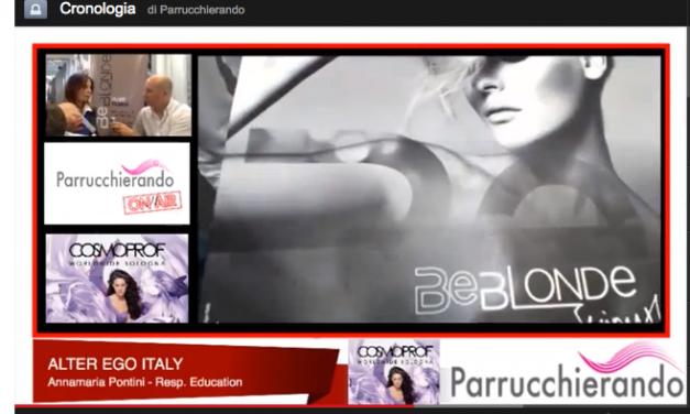 Alter Ego Italy – Cosmoprof 2014 presenta Be Blonde