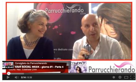 Cosmoprof 2014 – Parrucchierando con Brigida Stomaci