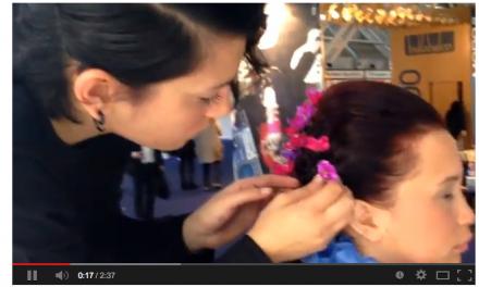 Cosmoprof 2014 – Video Hair Ring Day1
