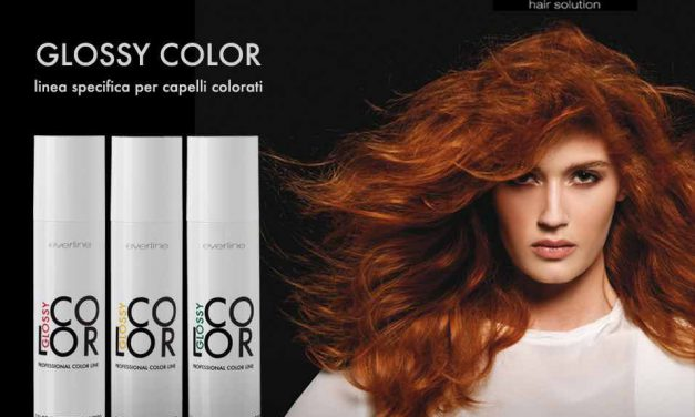 Capelli colorati: arriva Glossy Color, la linea specifica targata Everline