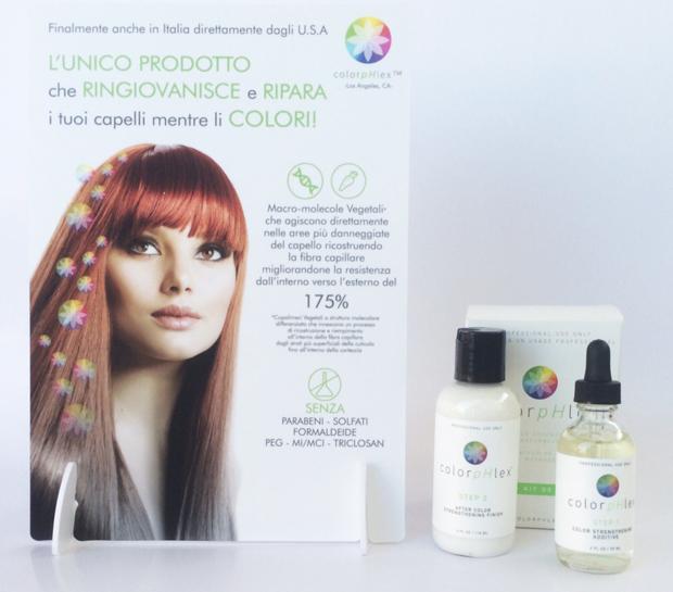 ColorpHlex ™ per un colore che nutre, ripara e rinforza in un unico gesto!