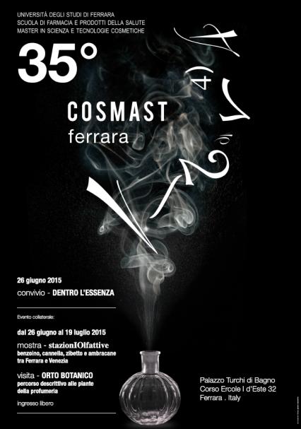 Accademia del profumo: Il profumo celebrato per il 35° anniversario di COSMAST