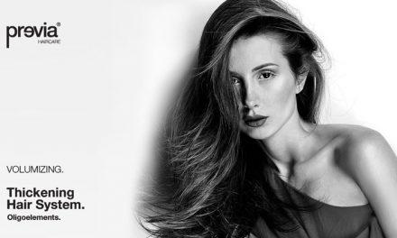 Previa Volumizing Thickening Hair System, specifici per capelli fini e sottili!