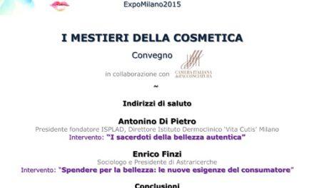 """Cosmetica Italia a Expo 2015 presenta """"I MESTIERI DELLA COSMETICA"""""""