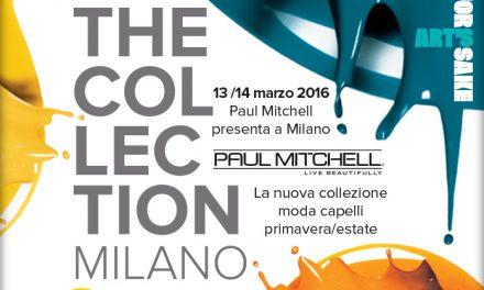 """""""FOR ART'S SAKE"""", a Milano il lancio della nuova Collezione Primavera/Estate Paul Mitchell"""