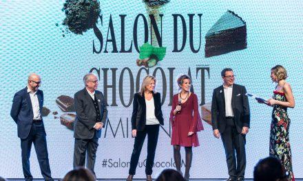 Al Salon du Chocolat  la prima sfilata con golosi hair-look creati da Wella