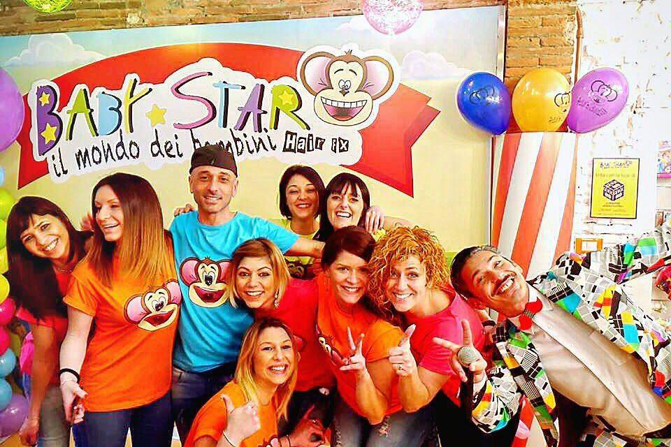 BABY STAR, apre il primo parrucchiere parco giochi per bambini!