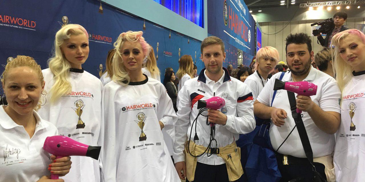 Mondiali OMC HAIR WORLD KOREA 2016: grandissimi risultati per i concorrenti A.N.A.M. (Accademia Nazionale Acconciatori Misti)!