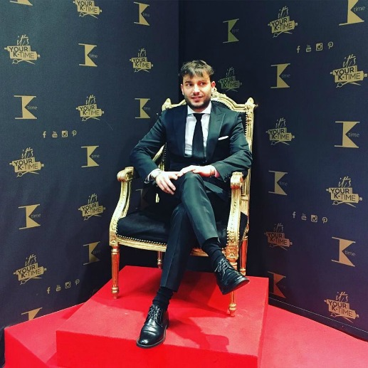 K-Time: Roberto Sommese vince It's your time contest!