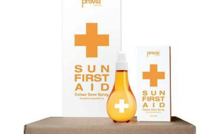 Previa Haircare: la soluzione dell'estate per i capelli colorati è Sun First Aid