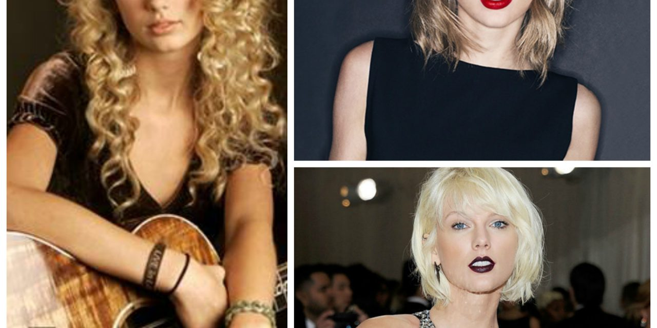 Moda: Taylor Swift e suoi cambi di look.