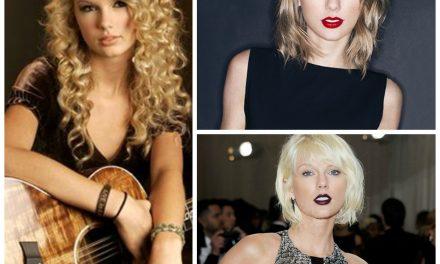 Moda: Taylor Swift e suoi cambi di look.