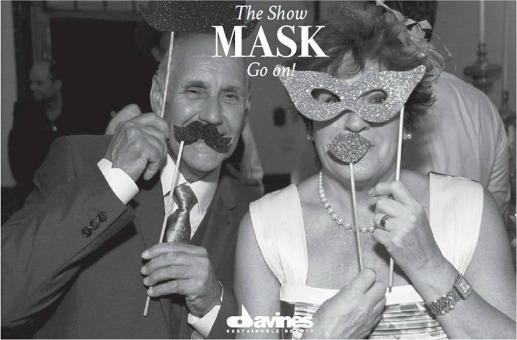 The show mask go on: Lo spettacolo di Davines!
