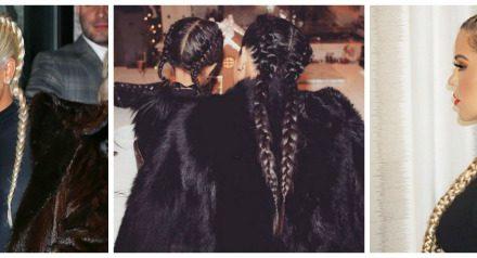 Trecce: le più cool !? Quelle delle Kardashian.