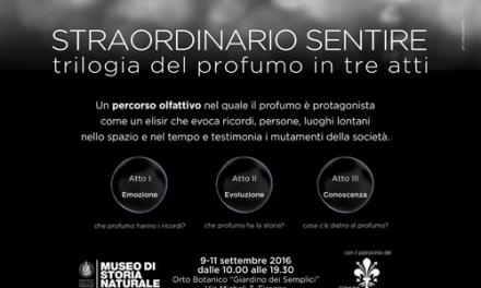 Percorso olfattivo itinerante: prestigiose collaborazioni accompagnano Accademia del Profumo verso la tappa di Firenze
