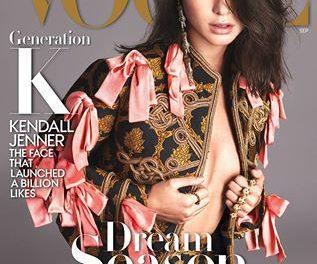 Look della settimana: Semptember Issues. Quest' anno è la volta di Kendall!