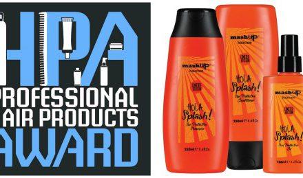 Hair Products Award: MashUp in concorso con la linea Hola Splash.