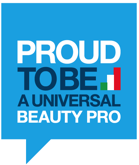 PROUD TO BE A UNIVERSAL BEAUTY PRO