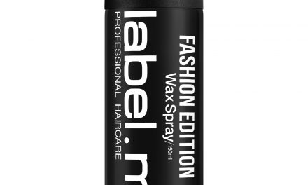 LABEL.M:  ECCO IL NUOVO WAX SPRAY FASHION EDITION