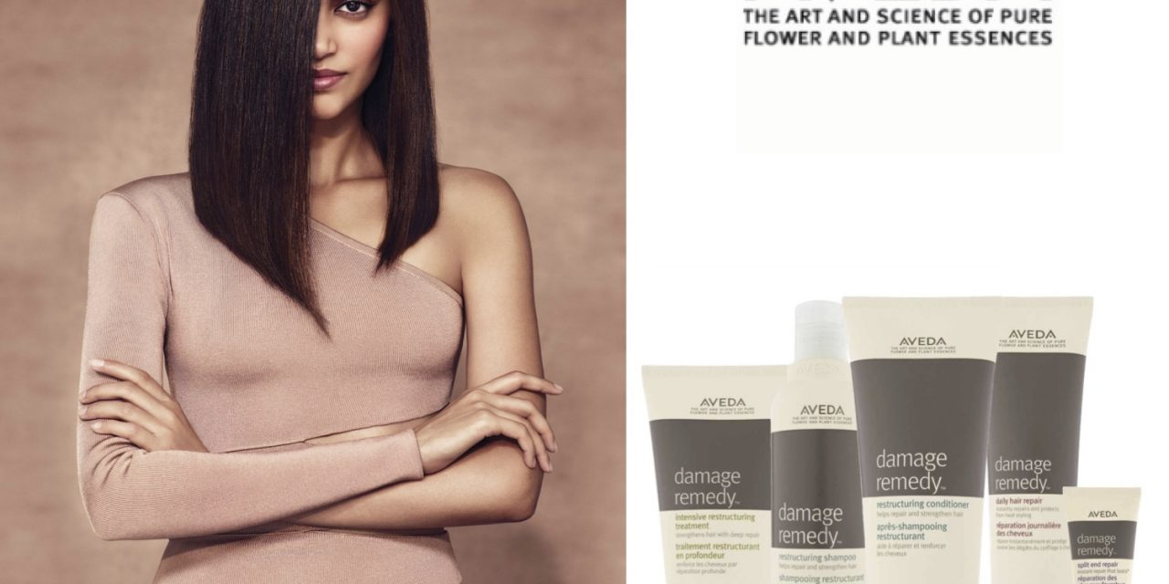 DAMAGE REMEDY BY AVEDA, RINFORZA ALL'ISTANTE I CAPELLI, DALLE RADICI ALLE PUNTE