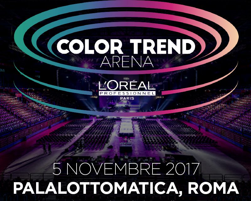 "WAITING FOR ""COLOR TREND ARENA""!"