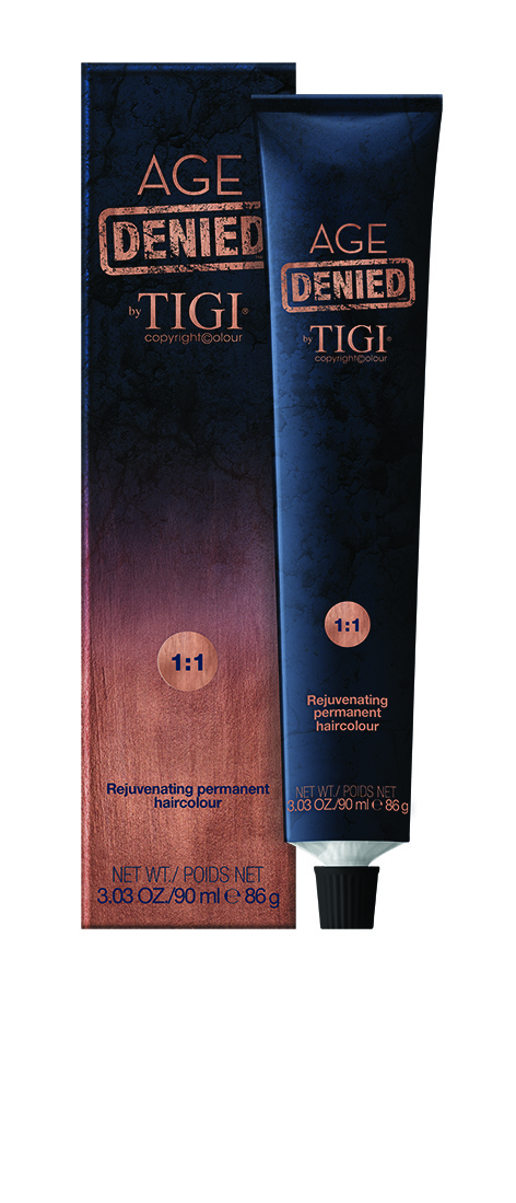 TIGI AGE DENIED Rejuvenating permanent haircolour