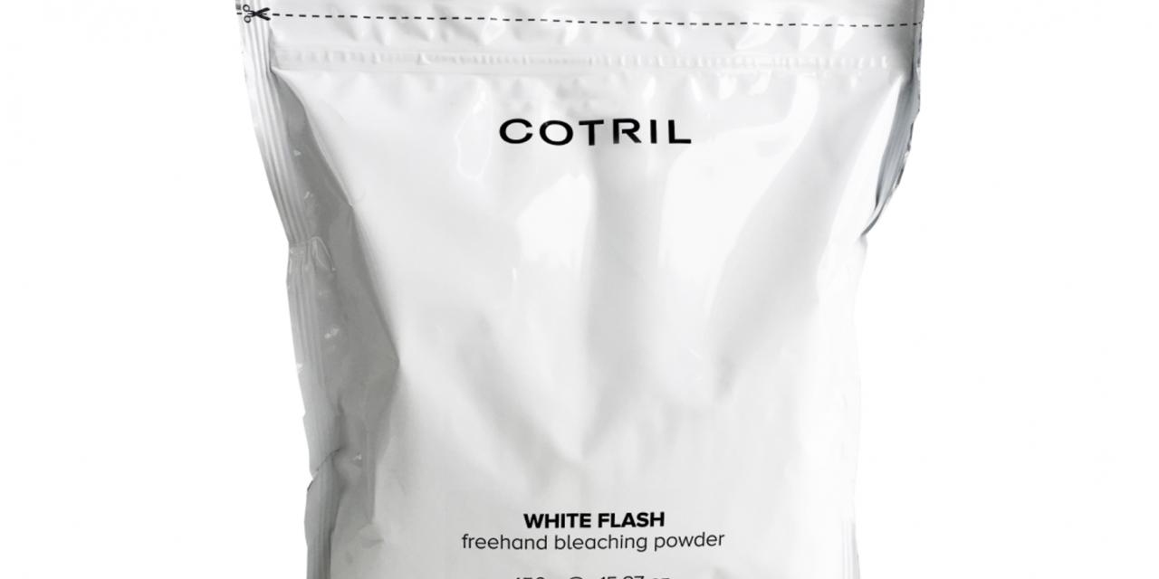 COTRIL WHITE FLASH FREEHAND BLEACHING POWDER, LA NUOVA POLVERE DECOLORANTE