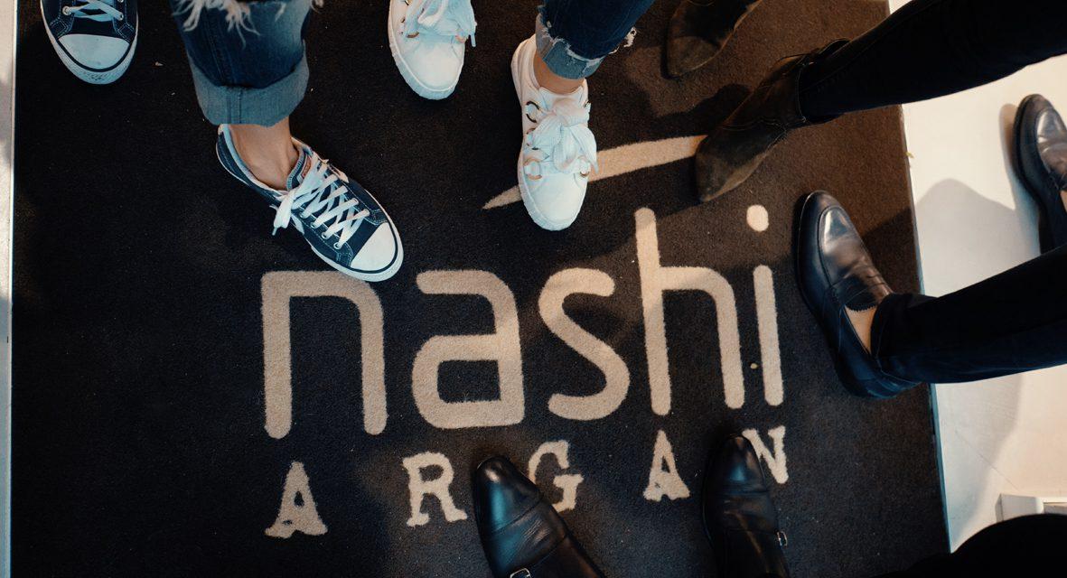 NASHI ARGAN APRE IL SUO PRIMO SALONE E OFFRE UNA SUPER OPPORTUNITA' AD HAIR STYLIST AMBIZIOSI!