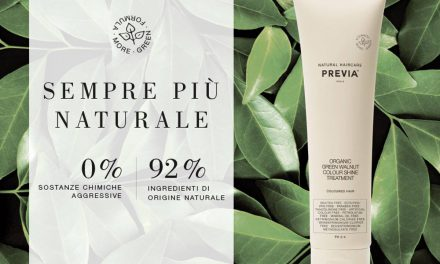 PREVIA HAIRCARE PRESENTA ORGANIC GREEN WALNUT COLOUR SHINE TREATMENT