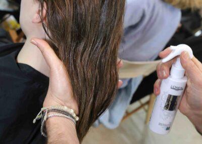 1-L'Oréal Professionnel_ MIlano Fashion Week FW 18_19 Les Copains (2)