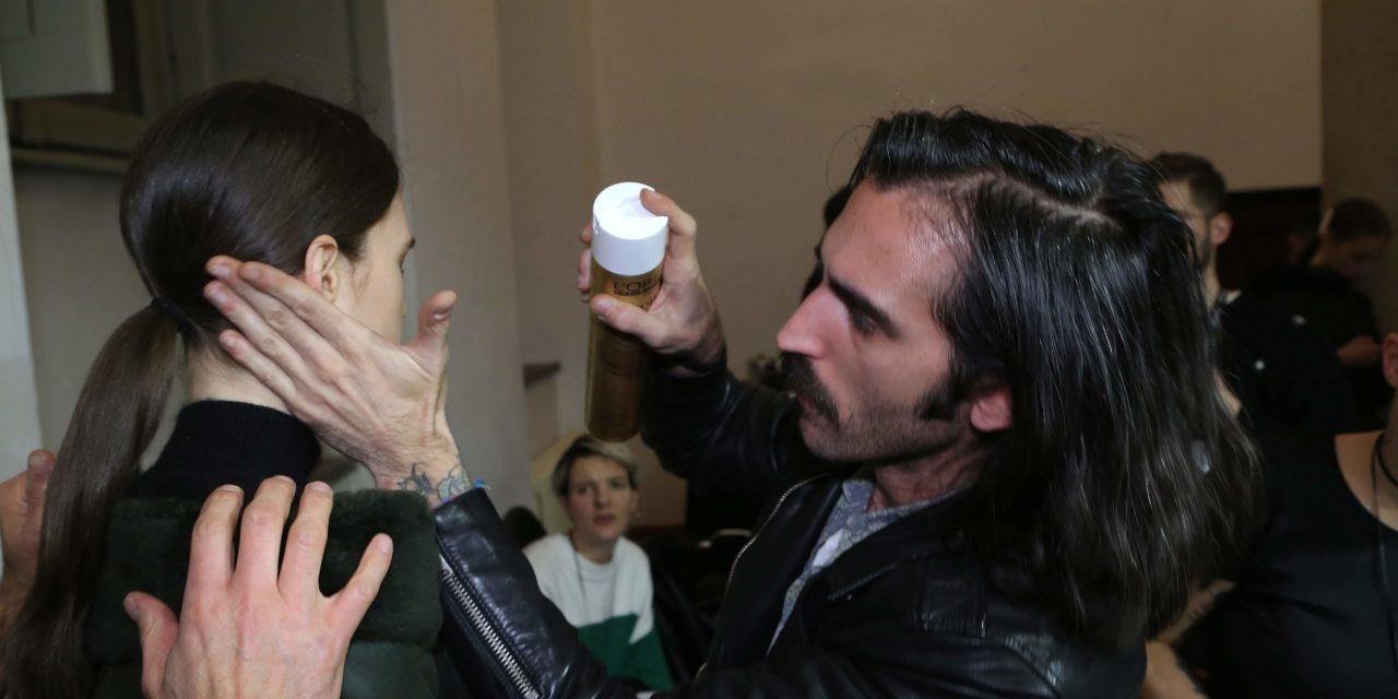 L'ORÉAL PROFESSIONNEL PER MILA SCHON ALLA MILANO FASHION WEEK